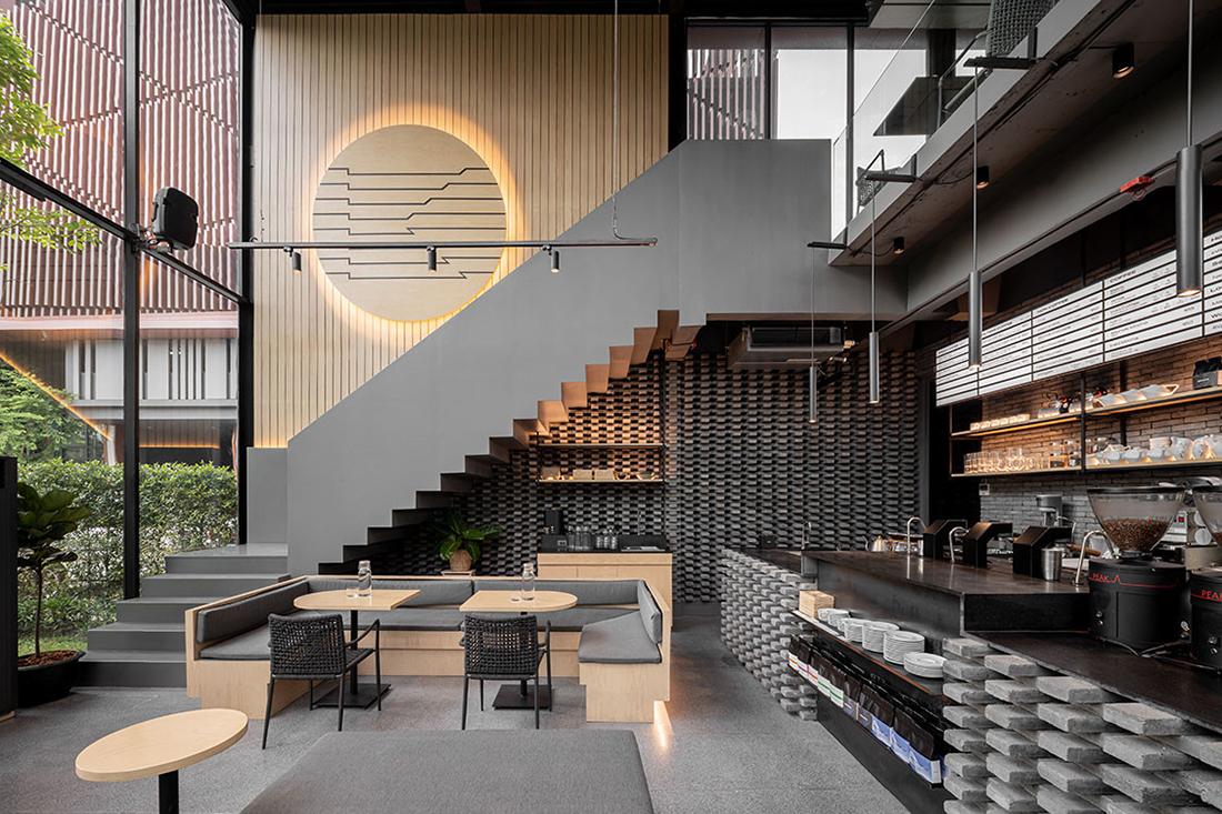 7 Inspirasi Desain Cafe Minimalis Kekinian yang Nyaman — Courtina   Courtina