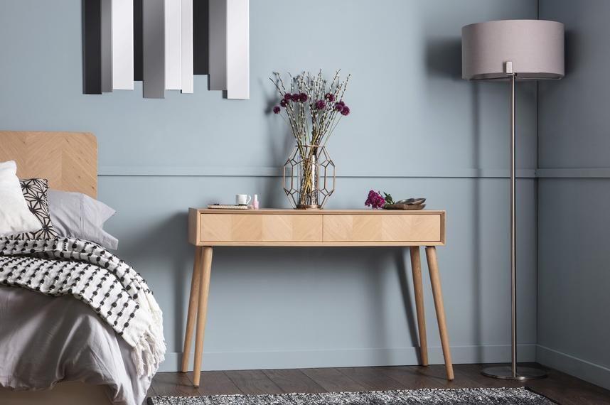 meja kayu minimalis