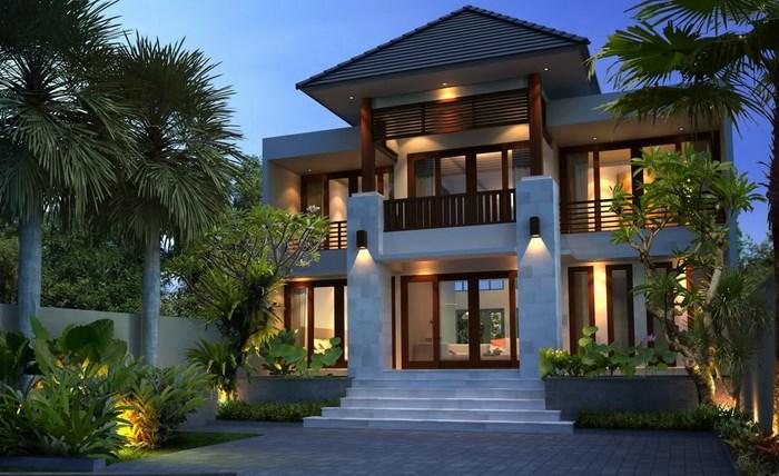 5 Contoh Desain Rumah Bali Minimalis Cantik Dan Elegan Courtina Courtina